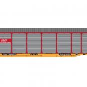 Soo Line Bi-Level Red Autorack TTGX Decals